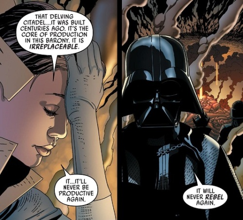 Darth Vader hates rebels!