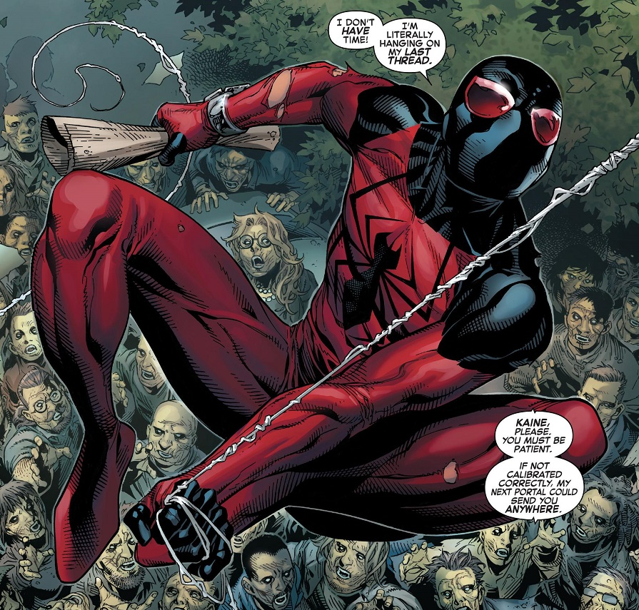 hooray the new scarlet spider is back henchman 4 hire