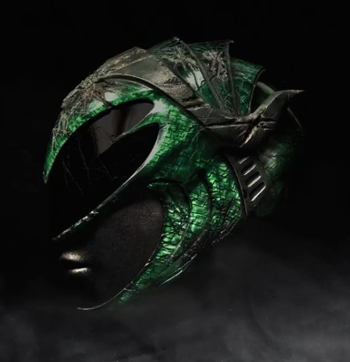 Green Ranger Movie Helmet 01