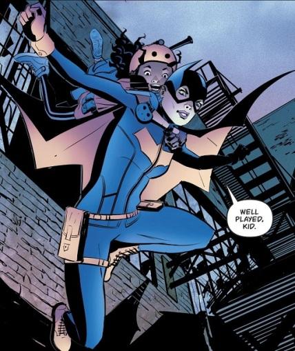 Batgirl Sidekick 01