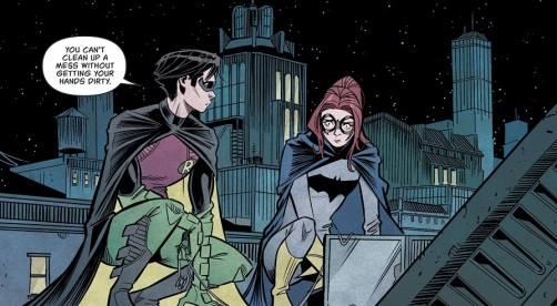 Robin Classic Batgirl 02