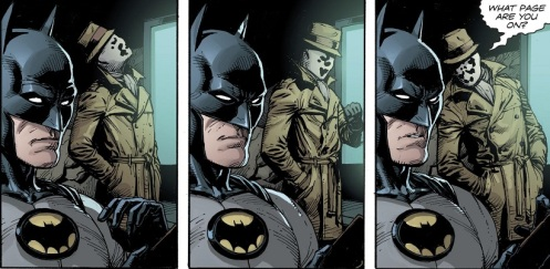 Batman Reads 01