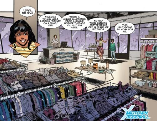 Spit Girl Shopping 01