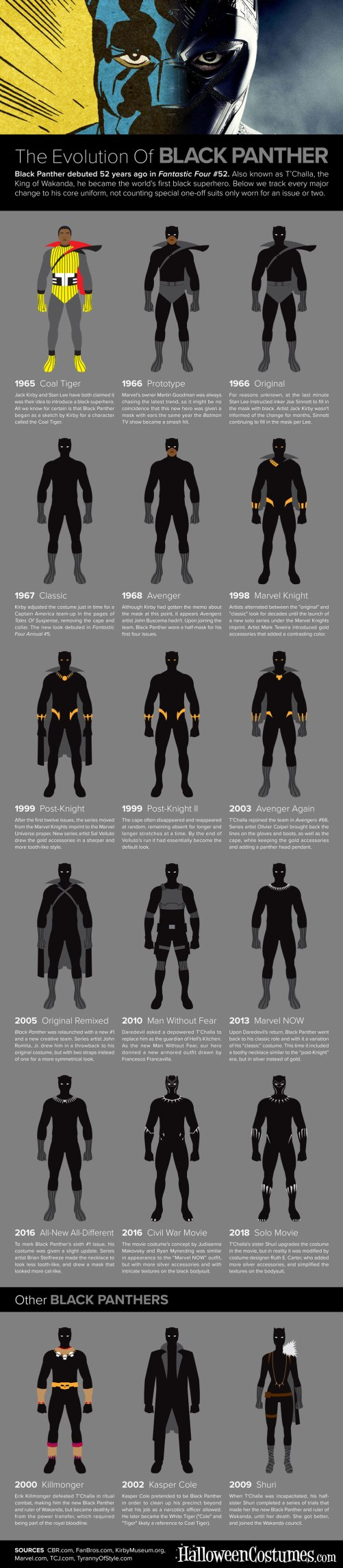 Black Panther Costumes 01