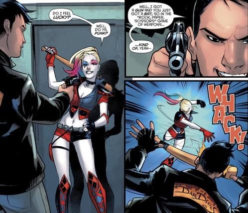 Harley Bat Fight 01
