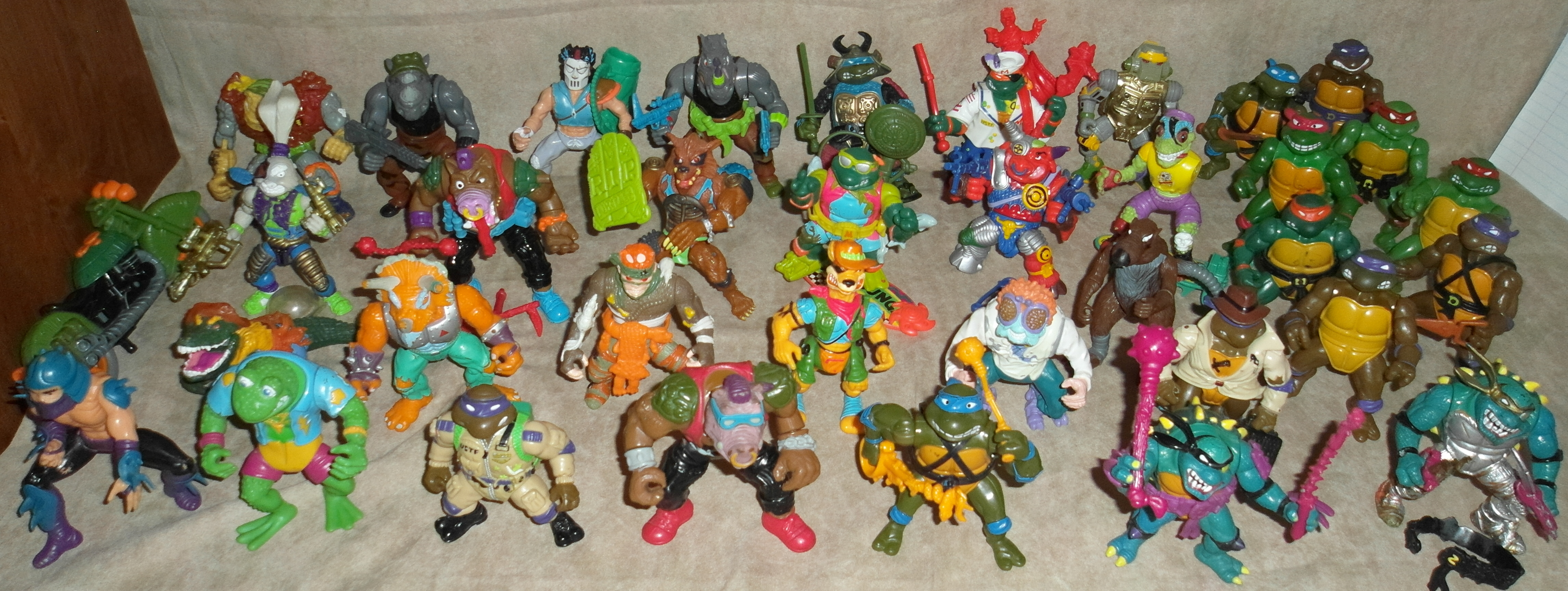 Ninja Turtles Fighting Figures 01
