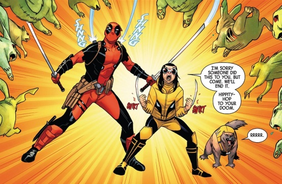 Honey Badger Deadpool 01