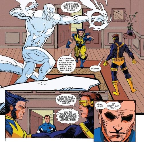Iceman Wolverine 01