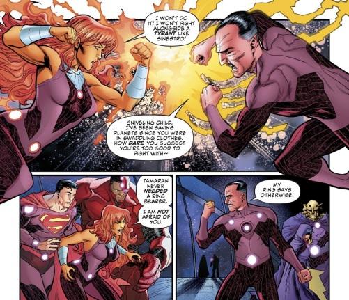 Starfire Sinestro 01