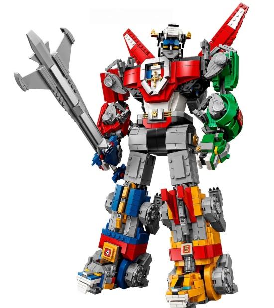 Voltron Lego Set 02