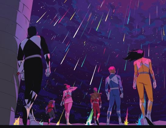 Power Rangers Awesome Rain 02