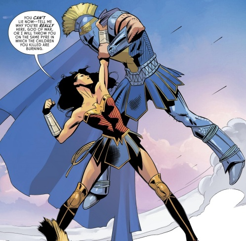 Wonder Woman Fights Ares 01