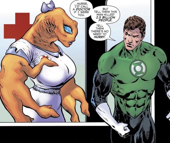 Green Lantern Nurse 01