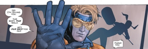 Booster Gold Five Days 01