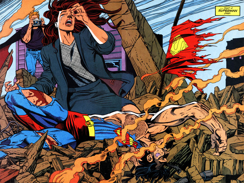 Death of Superman 01