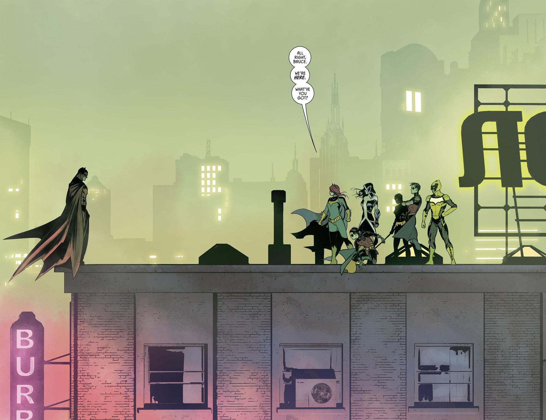 Batman Team Rooftop 01