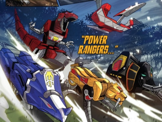 Power Rangers Zords 01