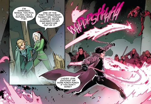 Rogue Gambit Fight 01
