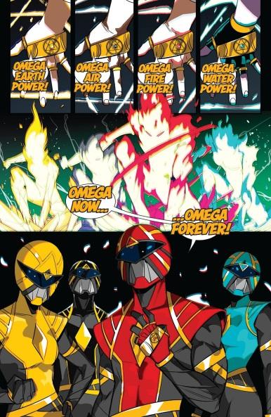 Omega Rangers Morph 01