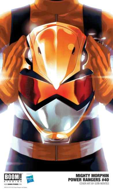 Orange Ranger 01