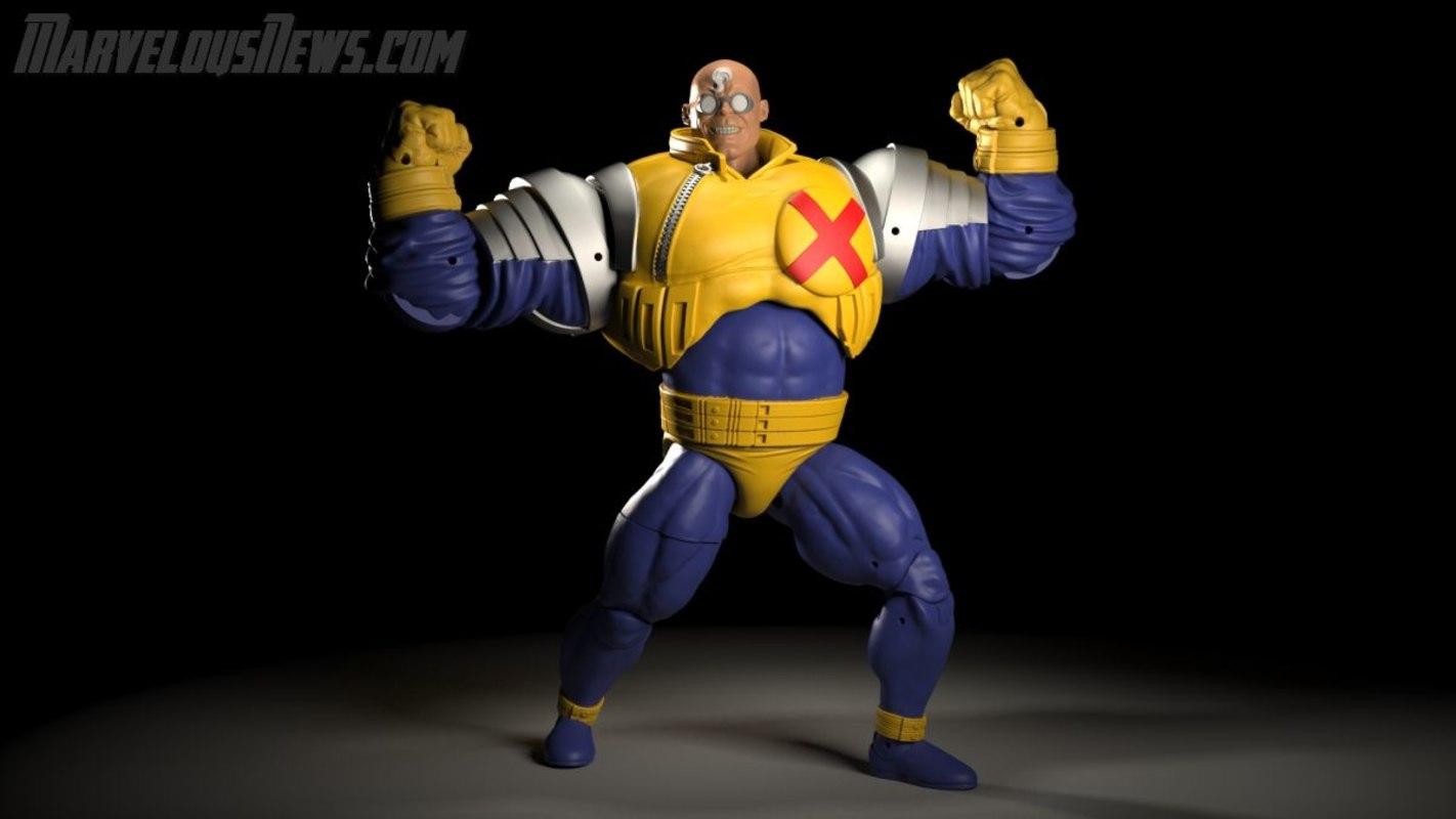 Strong Guy Marvel Legends Real 01