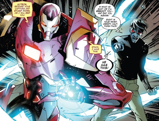 Iron Man Machine Man 01