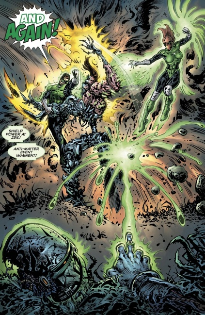 Green Lantern Major Fight 01