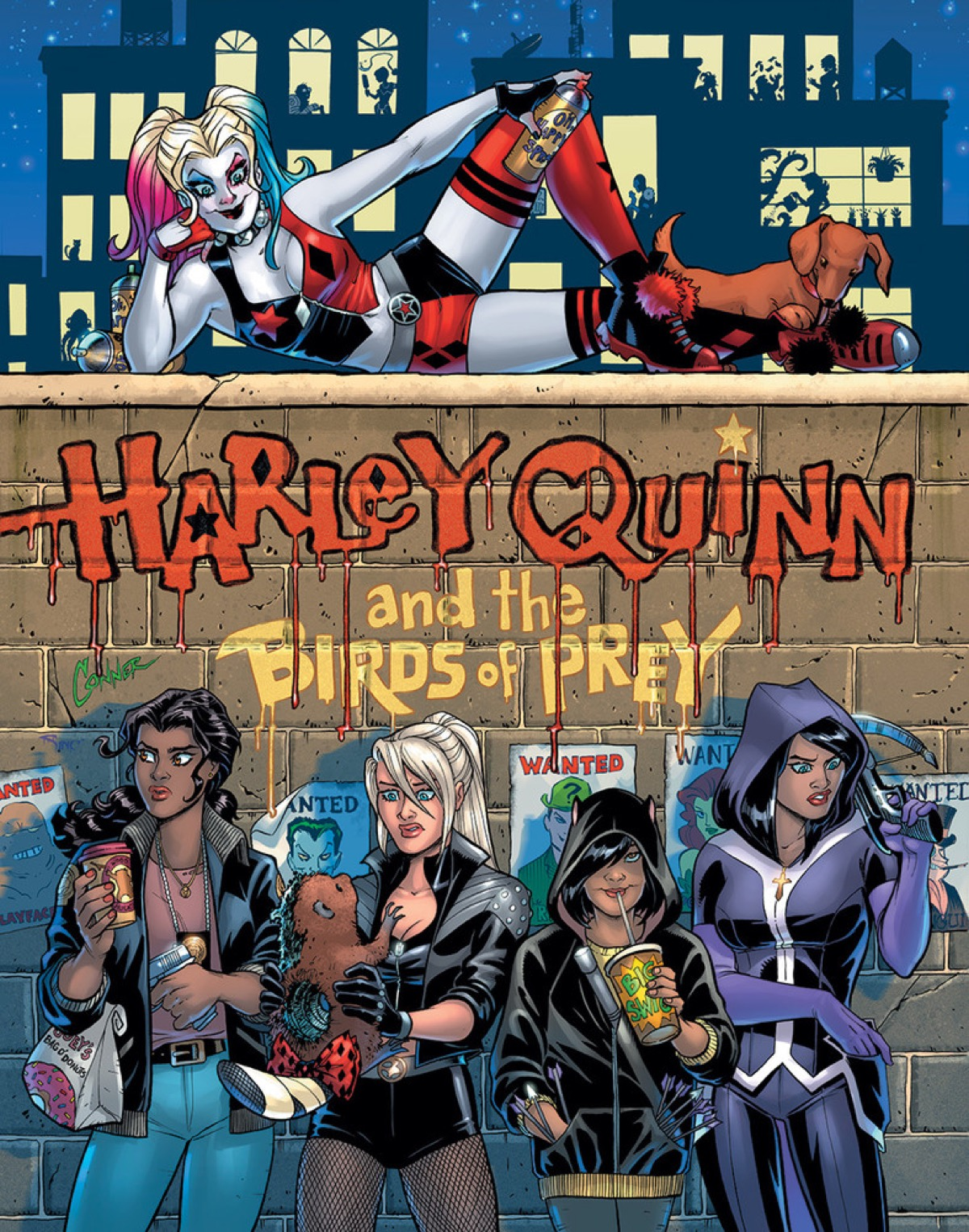 Harley Returns to Comics 01