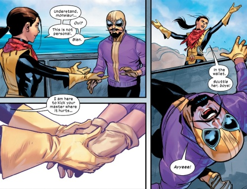 Kate and Batroc 01