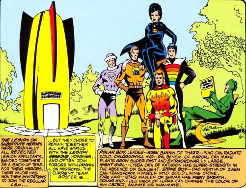 Legion Superheroes List 02