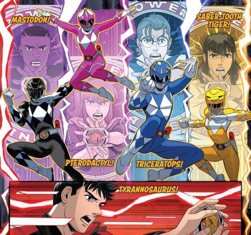 Power Rangers Morphing 05