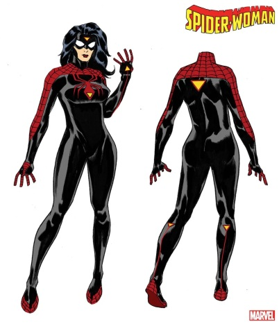 Spider Woman Costume Redesign 05