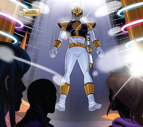 White Ranger Appears 01