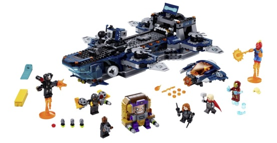 LEGO Helicarrier New 01